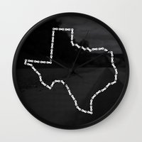 Ride Statewide - Texas Wall Clock
