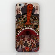 Swallow Frogs iPhone & iPod Skin