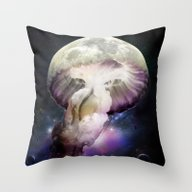 Cosmic Anomaly Throw Pillow