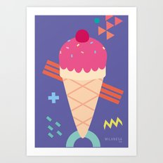 Ice Cream II Art Print