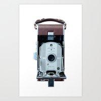 Polaroid Land Camera Art Print