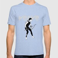 Verve Mens Fitted Tee Tri-Blue SMALL