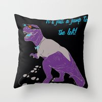 T-Warp Throw Pillow