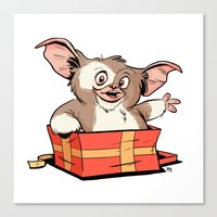 Gizmo Gift Canvas Print