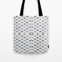 Digital Square Tote Bag