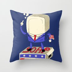 Politics are Dirty Throw Pillow
