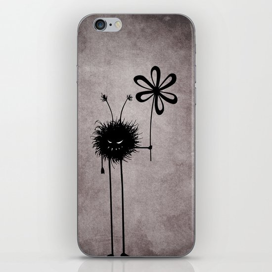Evil Flower Bug iPhone & iPod Skin