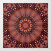 Royal Mandala Canvas Print