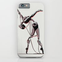 iPhone Cases featuring Dancer by Señor Salme
