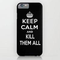 keep calm iPhone & iPod Cases featuring Keep Calm by Lunaramour