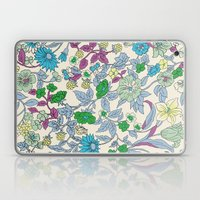 floral garden - spring Laptop & iPad Skin