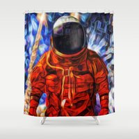 exploration Shower Curtain