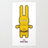 Sr. Trolo / C3PO Art Print