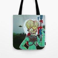 MARS ATTACKS Tote Bag