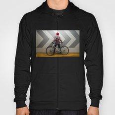 girl with bicycle Hoody