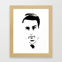 Edward Norton Framed Art Print