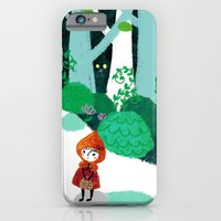 Red Riding Hood and The Wolf iPhone 6 Slim Case