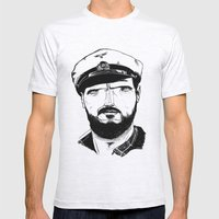 Das Boot Mens Fitted Tee Ash Grey SMALL