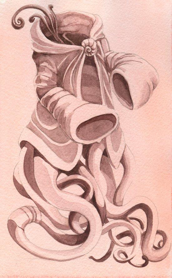 Traveling Cloak Art Print