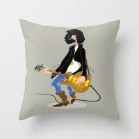 Guitar Hero Throw Pillow