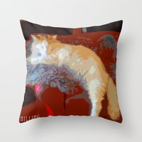 Just Chilling... Throw Pillow
