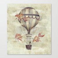 Skyfisher Canvas Print