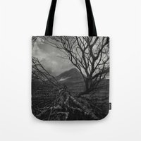 The Web Of Winter Tote Bag