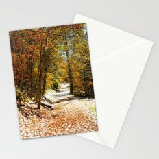 The First Snow Stationery Cards