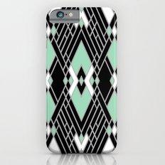 Art Deco Zoom Mint Slim Case iPhone 6s