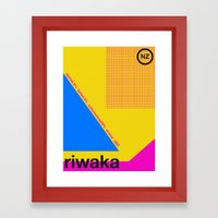 riwaka single hop Framed Art Print