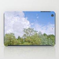Green skycrapers iPad Case