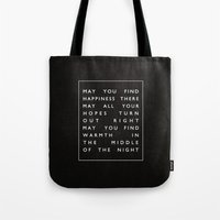 II. Find Happiness Tote Bag