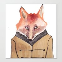 Brer Fox Canvas Print