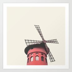 Moulin Art Print
