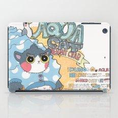 Aqua cat_Puno iPad Case