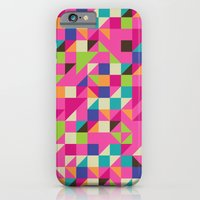 iPhone & iPod Case featuring TRIANGLES by Lachyn
