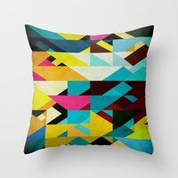 Colorful Game Throw Pillow