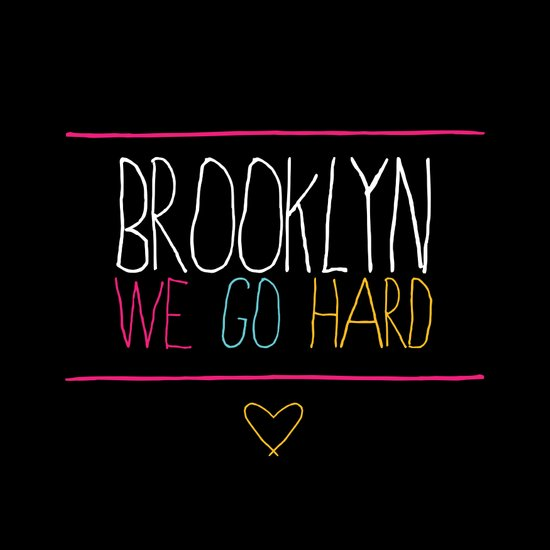 Brooklyn We Go Hard Canvas Print