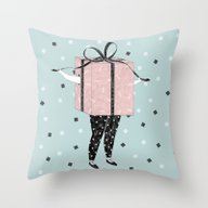 Surprise ! Throw Pillow
