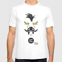 Feral Mens Fitted Tee White SMALL