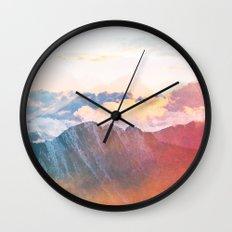 Mountain Glory #society6 #decor #buyart Wall Clock