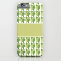 GREEN/LEMON BIRDS iPhone 6 Slim Case