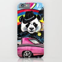 iPhone & iPod Case featuring Miami Panda by Olive Primo Design + Illustration