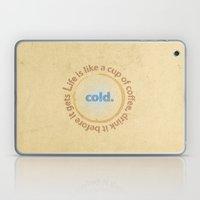 Life And Coffee Laptop & iPad Skin