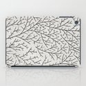 Berry Branches – Silver & Black iPad Case