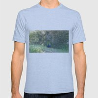 Showman Mens Fitted Tee Athletic Blue SMALL
