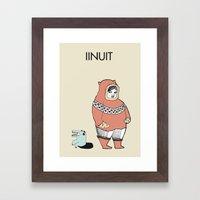 INUIT Framed Art Print