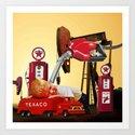 Future Oil Tycoon Art Print