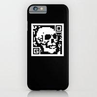 QR- Dead iPhone 6 Slim Case