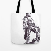 Master Chief 117 Tote Bag